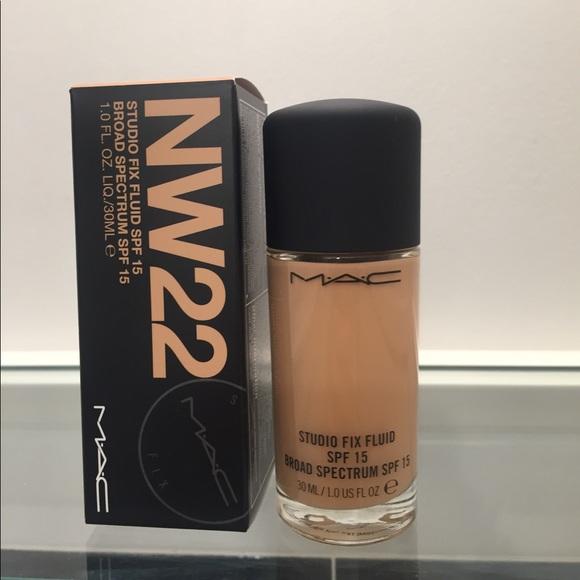 c0b26b132 MAC Cosmetics Makeup   Mac Nw22 Studio Fix Fluid Spf 15   Poshmark